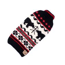 Chilly Dog Sweaters Black Bear