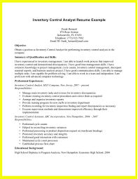 Inventory Control Resume Sample Inventory Management Resume Samples Dadajius 3