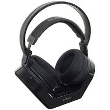 sony wireless headphones. evertek wholesale computer parts - sony mdr-rf925rk wireless earcup stereo headphones w/transmitter base station (black) , mdr-rf925rk-fb-r y
