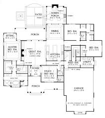 First Floor Plan U0026 Second Floor Plan2200 Sq Ft House Plans