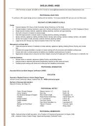 resume for interior designer shelia jones interior design resume interior design resume objective