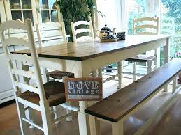 full size of farm table bench chairs with and fashionable farmhouse white round furniture awesome ouse