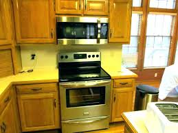 over the stove microwave. Microwave Above Stove With Vent Height Of Over The Range