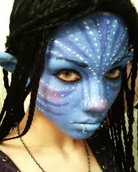 neytiri cosplay makeup test by undercoverenvy on deviantart