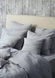 image of washed linen duvet flax cotton blend cover set natural pure washed linen duvet cover french bed covers flax bedding softened twin full