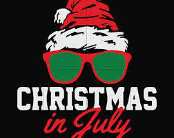 Christmas In July Svg Etsy