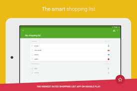 grocery checklist grocery shopping list listonic android apps on google play