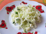 Салат с зеленой редькой и яблоком и морковью