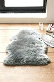 faux fur rug grey luxury faux sheepskin rug faux fur area rug ikea