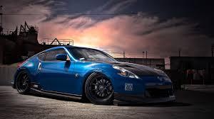 nissan 370z wallpaper 1080p. Brilliant 370z 1920x1080 Wallpaper Nissan 370z Tuning Blue Side View In Nissan 370z 1080p 0