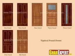 Different Types of Panel Doors