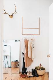 Hanging Clothes Rack For Narrow Space