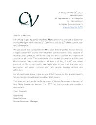 Employee Recommendation Letter Customer Service Mediafoxstudio Com
