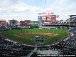 Washington National Seating Chart Views Washington Nationals Seating Best Seats At Nationals Park