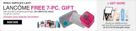 free 7 pc lane gift with purchase at macy s plus a dior serum