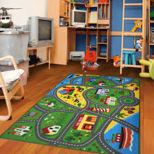 kids rug with roads kids rug city street map children learning carpet play rug for