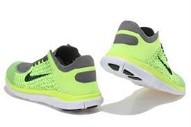 nike 4 0 flyknit mens. nike free 4.0 flyknit men fluorescent green grey running shoes - $69.99 4 0 mens