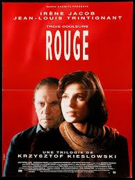 THREE COLOURS Movie Cinema Poster Art RED 1994 Krzysztof Kieślowski  Kunstplakate Kunst Sammeln & Antiquitäten