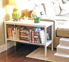 bookcase coffee table bookshelf side table stylish coffee table white end table with bookshelf and bin bookcase coffee table