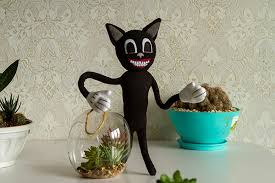Cartoon cat horror game, you go in search of it. Amazon Com Cartoon Cat Plush Handmade Toy With Wire In Hands Cartoon Cat Toy Cartoon Cat Inspired Plushie Handmade