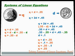 algebra solving systems of equations part 1 8th grade math you
