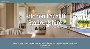Web Design In Staffordshire Web Design Kitchen Facelift Staffordshire