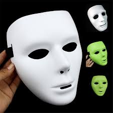 Plain White Masks To Decorate Aliexpress Buy NEW Halloween Luminous Masks Ghost Dance Hip 15