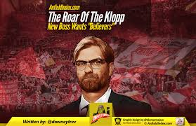 As for what constitutes a meme? The Roar Of The Klopp New Boss Wants Believers