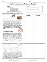 Reading Comprehension Problem And Solution 1 Problem