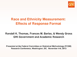 Race and Ethnicity Measurement: Effects of Response Format