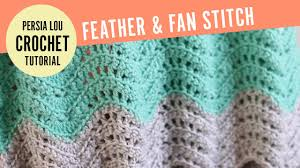 Feather And Fan Pattern