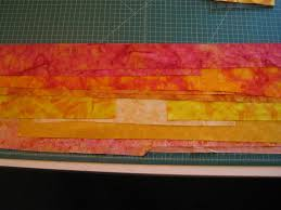 """How Much Time Does It Take to Make an Art Quilt - Art Quilts by Sharon & The making of art quilts and contemporary quilts is very different. I have  about 15 strips of different colors """"I THINK"""" I ... Adamdwight.com"""