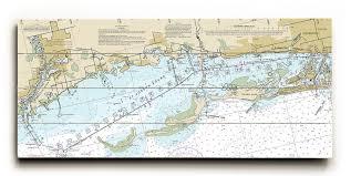 Fl Crystal Beach Honeymoon Island Fl Nautical Chart Sign