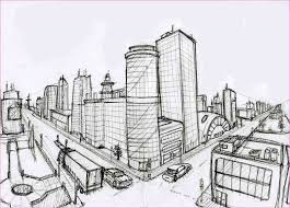 perspective drawings of buildings. 2 Point Perspective Drawing Buildings Drawings Of N