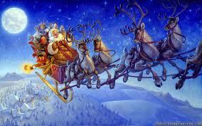 christmas wallpaper hd widescreen santa. Interesting Christmas Wallpaper Santa On Christmas Eve Wallpapers Resolution 1024x768   1280x1024 1600x1200 Widescreen Res  For Wallpaper Hd O