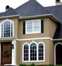 painting stucco exterior color. tan stucco, white window moldings. moldingsoutdoor paintstucco colorsexterior painting stucco exterior color i