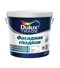<b>Краска в/д</b> фасадная <b>Dulux</b> гладкая основа BM матовая 5 л ...