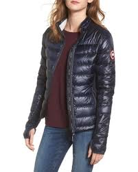 Women s Canada Goose  Hybridge Lite  Slim Fit Mixed Media Down Jacket