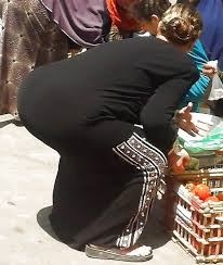 Arab candid big boobs ass