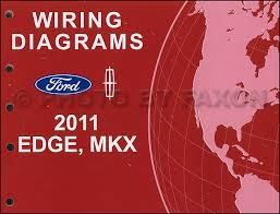 2011 ford edge lincoln mkx wiring diagram manual original