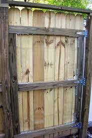 Simple Wood Fence Gate Plans Building A Intended Design Inspiration