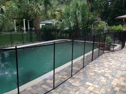 safety pool fence. Baby Barrier Pool Fence Of Central Florida Safety E