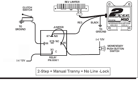msd 2 step wiring diagram msd image wiring diagram wiring 2 step through clutch switch ford mustang forums corral on msd 2 step wiring diagram