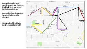 Cable Installation Job Pythagorean Theorem Cable Installation