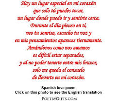 Love Poems In Spanish And English For Him Creativepoemco Stunning Love Quotes In Spanish For Him