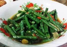 Masukan kacang panjang dan tempe. Resep Cara Memasak Tumis Kacang Panjang Sedap Bergizi Makanan Vegetarian Tumis Cara Memasak