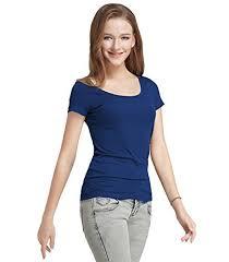 Buy <b>Fashion</b> Line <b>Women's Short Sleeve</b> T-Shirt at Amazon.in