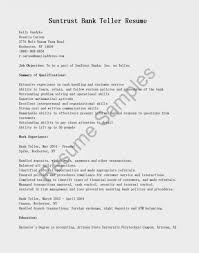 Charming Head Teller Duties Resume Photos Example Resume And