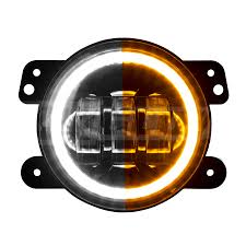XKGLOW 4in ultra bright wide angle LED fog light switch back dual