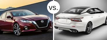 Nissan Altima Comparison Chart 2019 Nissan Altima Vs 2019 Nissan Maxima Boucher Nissan Of